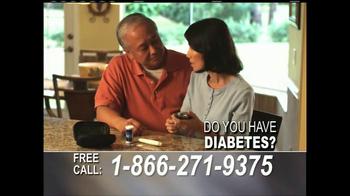 24/7 Diabetic Health Hotline TV Spot, 'Testing Supplies' - Thumbnail 1