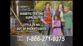 24/7 Diabetic Health Hotline TV Spot, 'Testing Supplies'