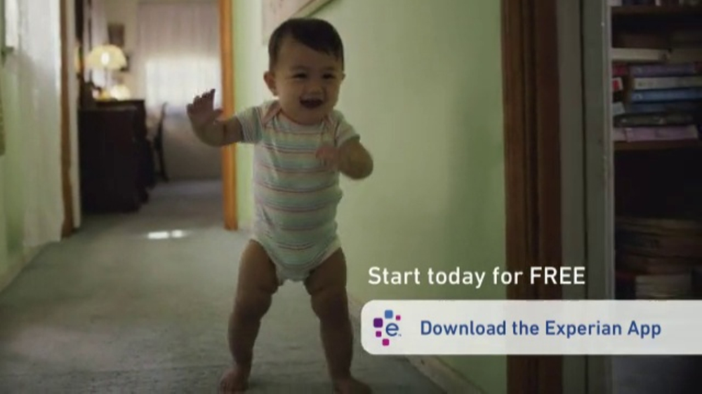 Experian App Tv Commercial Baby Steps Ispot Tv