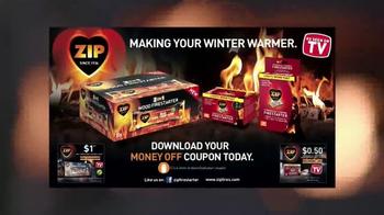 Zip Firestarters TV Spot, 'Warm Fireplace' - Thumbnail 7