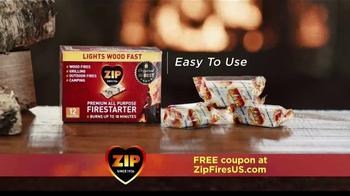 Zip Firestarters TV Spot, 'Warm Fireplace' - Thumbnail 2