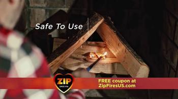 Zip Firestarters TV Spot, 'Warm Fireplace' - Thumbnail 4