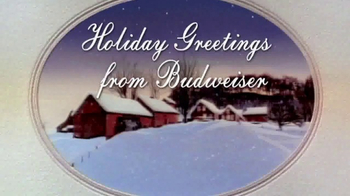 Budweiser TV Spot 'Holiday Greetings'