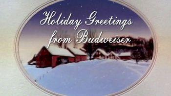 Budweiser TV Spot 'Holiday Greetings'
