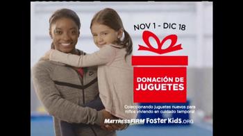 Mattress Firm Foster Kids TV Spot, 'Donación de juguetes' [Spanish] - Thumbnail 10