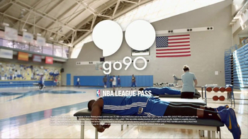 Verizon go90 App TV Spot, 'Basketball or Massage?' Featuring Draymond Green - Thumbnail 8