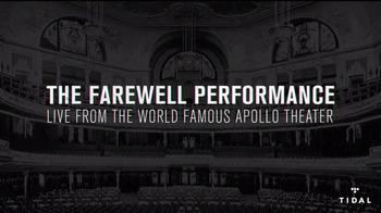 TIDAL TV Spot, 'Yasiin Bey: Apollo Theater' - Thumbnail 3