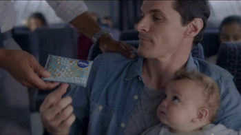 Kleenex TV Spot, 'Long Flight' - Thumbnail 4
