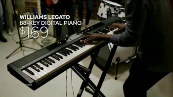 Guitar Center New Year, New Gear Sale TV Spot, 'Digital Piano and Mic'