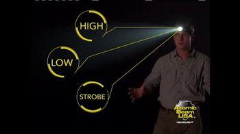 Atomic Beam Headlight TV Spot, 'No Ordinary Headlight' - 725 commercial airings