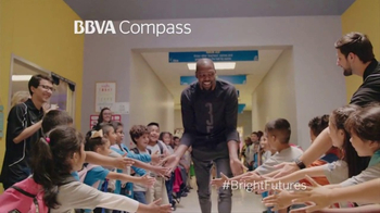 BBVA Compass TV Spot, 'Bright Futures' Featuring Kevin Durant - 392 commercial airings