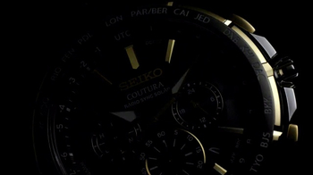 Seiko Coutura Radio Sync Solar TV Spot, 'Timekeeping' Feat. Jimmie Johnson - Thumbnail 1