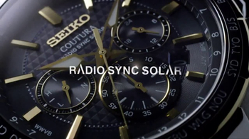 Seiko Coutura Radio Sync Solar TV Spot, 'Timekeeping' Feat. Jimmie Johnson - Thumbnail 3