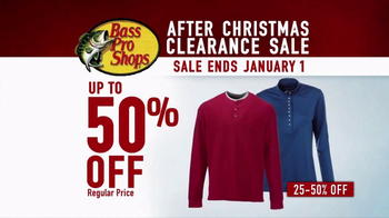 Bass Pro Shops After Christmas Clearance Sale TV Spot, 'Huge Savings' - Thumbnail 5