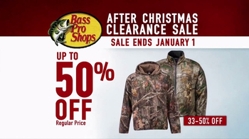 Bass Pro Shops After Christmas Clearance Sale TV Spot, 'Huge Savings' - Thumbnail 6