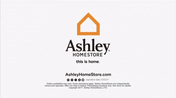 Ashley HomeStore New Year's Savings Bash TV Spot, 'Sofa & Dining' - Thumbnail 7