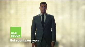 H&R Block TV Spot, 'Blow It Up' Featuring Jon Hamm - Thumbnail 9