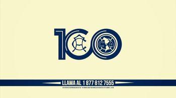 Club América TV Spot, 'Libro: 100 Años de Grandeza' [Spanish]