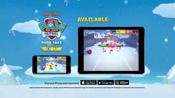 PAW Patrol Pups Take Flight TV Spot, 'Winter Wonderland' - Thumbnail 5