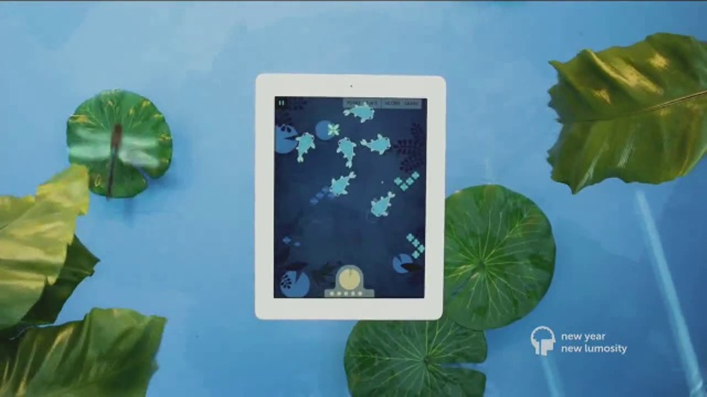 Lumosity TV Commercial, 'New Year, New Ways to Play'