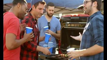 Camping World Year-End Clearance TV Spot, 'Tailgating Floorplans'