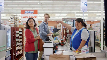 Hefty Slider Bags TV Spot, 'Chuck It' - 1 commercial airings