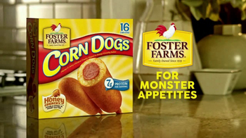 Foster Farms Corn Dogs TV Spot, 'Conquer a Monster Appetite' - Thumbnail 10