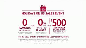 Kia Holidays on Us Sales Event TV Spot, 'Snowflake Gift' - Thumbnail 8