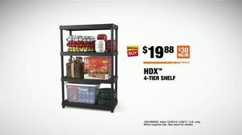 The Home Depot TV Spot, 'Storage Space: Shelf' - Thumbnail 8