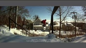 Vudu TV Spot, 'Snowboarding Movies' - Thumbnail 6