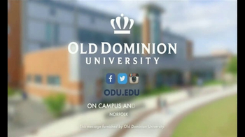 Old Dominion University TV Spot, 'Be the Game Changer' - Thumbnail 10