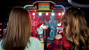 Dave and Buster's TV Spot, 'Nickelodeon: Rock 'Em, Sock 'Em Robots' - Thumbnail 1