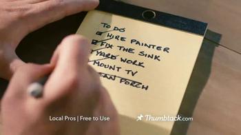 Thumbtack TV Spot, 'Your To-Do List' - Thumbnail 9
