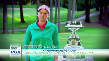 KPMG Women's PGA Championship TV Spot, 'Olympia Fields Country Club' - 14 commercial airings