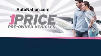 AutoNation TV Spot, 'One-Price Vehicles' - Thumbnail 1