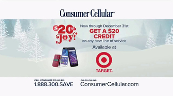 Consumer Cellular TV Spot, 'Better Value: Pie: Holiday $20 Credit: Plans $10+ a Month' - Thumbnail 8