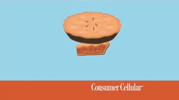 Consumer Cellular TV Spot, 'Better Value: Pie: Holiday $20 Credit: Plans $10+ a Month' - Thumbnail 1