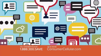 Consumer Cellular TV Spot, 'Better Value: Pie: Holiday $20 Credit: Plans $10+ a Month' - Thumbnail 5