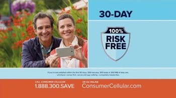 Consumer Cellular TV Spot, 'Better Value: Pie: Holiday $20 Credit: Plans $10+ a Month' - Thumbnail 6