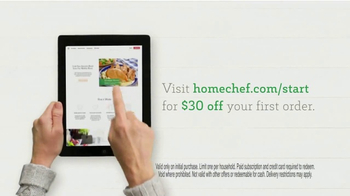 Home Chef TV Spot, 'Making Things Happen' - Thumbnail 6
