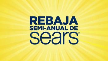 Rebaja Semi-Anual de Sears TV Spot, 'Electrodomésticos' [Spanish] - Thumbnail 1