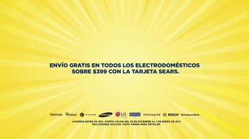 Rebaja Semi-Anual de Sears TV Spot, 'Electrodomésticos' [Spanish] - Thumbnail 3