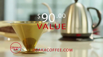 Osaka Coffee TV Spot, 'Filter and Kettle Kit' Featuring Kevin Harrington - Thumbnail 7