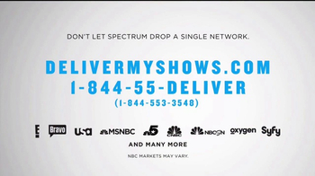 NBC Universal TV Spot, 'Spectrum May Drop Networks' - Thumbnail 6