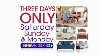 Rooms to Go Coupon Sale TV Spot, 'Save Big Money' - Thumbnail 3