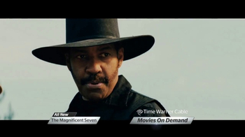 Time Warner Cable On Demand TV Spot, 'The Magnificent Seven' - Thumbnail 3