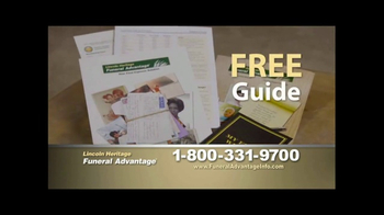 Lincoln Heritage Funeral Advantage TV Spot, 'Protect Your Loved Ones' - Thumbnail 3