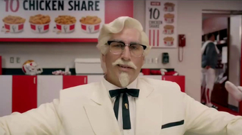 KFC $10 Chicken Share TV Spot, 'Ice Bath' Featuring Rob Riggle - Thumbnail 1