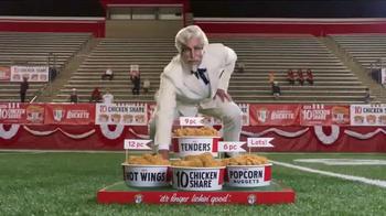 KFC $10 Chicken Share TV Spot, 'Ice Bath' Featuring Rob Riggle - Thumbnail 10