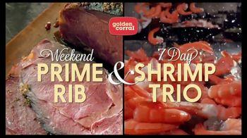 Golden Corral Prime Rib & Shrimp Trio TV Spot, 'Kick Off the New Year'